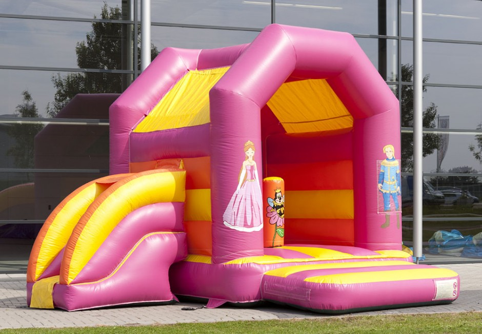 springkasteel prinses fun for kids te huur 1